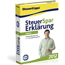 Steuer-Spar-Erklärung 2012 für Lehrer (für Steuerjahr 2011)