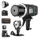 Godox Witstro AD600B (Bowens) + X1T-N (Nikon) + H600B + Bolsa PB-600