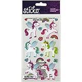 Sticko-classique-licornes-Stickers