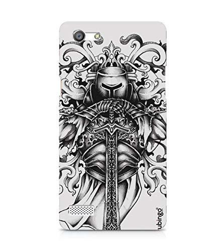 YuBingo Knight and Armor Designer Printed Hard Plastic Mobile Case Back Cover for Oppo Neo 7