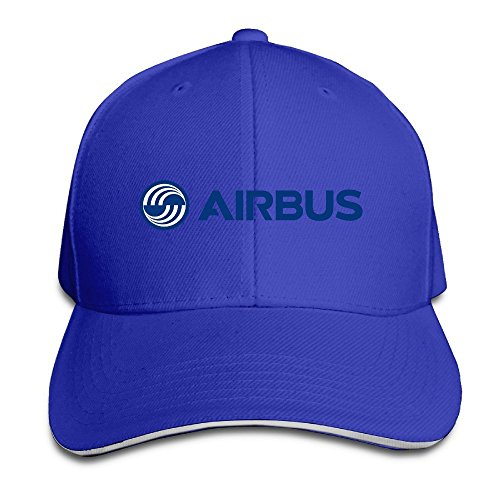 hittings-airbus-logo-blue-adjustable-snapback-cap-baseball-peaked-hat-roya-lblue