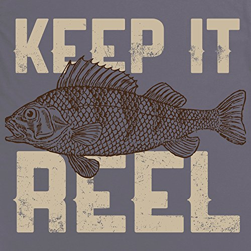 Keep It Reel - Perch T-Shirt, Damen Anthrazit