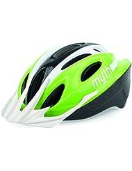 Polisport GIYO Helm, Größe L 57–61, grün und schwarz