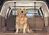 Deluxe-Kofferraum-Schutzgitter für Gepäck, Hunde etc. Universal verwendbar.