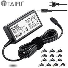 TAIFU universal 65W del ordenador portátil cargador de la fuente de alimentación Adaptador de conector con 14 consejos para Acer, Asus, HP, Compaq, Dell, ...