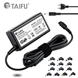 TAIFU 33W 40W 45W Chargeur Universel - Ultra Slim - Universal 45w Power Supply Avec 5V 2A USB Port Pour Notebook Samsung, Asus, Toshiba, Benq, Gateway, Lenovo, LG, Fujitsu, Dell, HP, Acer, Sony, 700T1A XE700T1A Ativ Series 9 NP530U3C 540U3C NP540U3C ADP-45AW Ux21 ux31 ux31k ux21e ux32 ux42 Ux31e, VivoBook F102 UX305F UX305FA X553M X553MA F102BA F102CA F200 F200M F200MA, Toshiba Satellite P50 P55 C50d C55 C55d C55dt, HP Envy X360 15T, VGP-AC19V39, Lenovo ideapad 700S