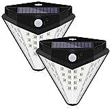 Wiederaufladbare Solar Led Pir Solarlicht Bewegungsmelder Lampe Wasserdicht Weiß 60 * 30 * 32.5Cm