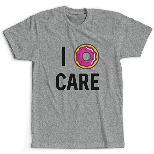 Love Donut Maglietta / T-Shirt Grigio Uomo / Più colori e dimensioni / Spedizione Veloce