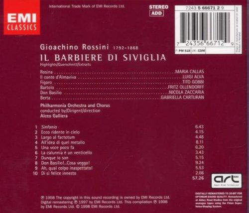 Rossini - Le Barbier de Séville