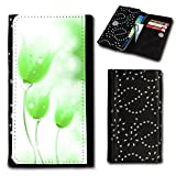 Diamante Flip Case Cover with Flip Case for Wiko