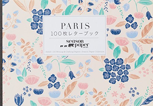 Paris: 100 Writing and Crafting Papers por Season Paper