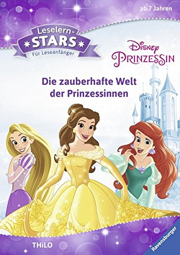 Preisvergleich Produktbild Leselernstars Disney Prinzessin: Die zauberhafte Welt der Prinzessinnen: Für Leseanfänger