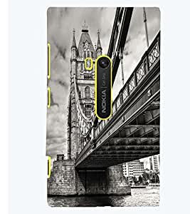 Printvisa London Bridge In Vintage Background Back Case Cover for Nokia Lumia 920::Microsoft Lumia 920