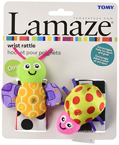 Image of Lamaze High Contrast Wrist Rattles