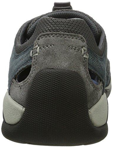 camel active Moonlight 12, Sneakers Basses Homme Bleu (Navy/Dk.Grey 04)