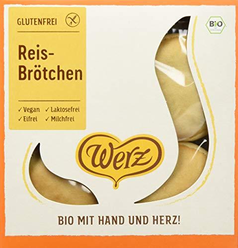 Werz Reis-Brötchen, glutenfrei, 4er pack (4 x 250g)