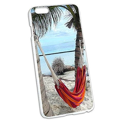 Tropical Beach Hamac–Palm Trees Océan Coque de protection rigide à clipser pour Apple iPhone 66S Plus