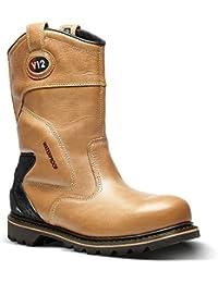 2455a5dfd5d Amazon.co.uk: Brown - Boots / Men's Shoes: Shoes & Bags