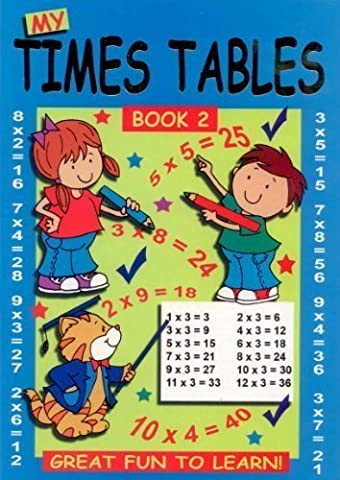 Mes tables de multiplication: Colorier amusant (livre 2)