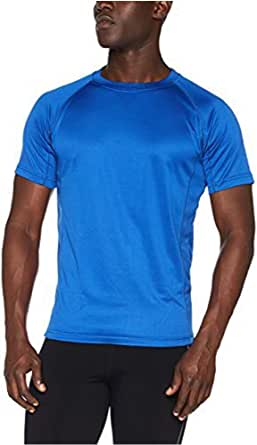Quality | Mens T-Shirt Active Wear Sports Performance Tops Plain That Wicks Moisture Away Keeps You Cool and Dry While Training, During Workouts Sports Performance Shirt
