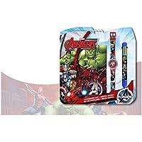 Avengers - Set con reloj, diario y bolígrafo (Kids MV92381)