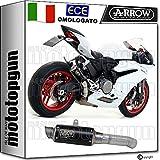 ARROW Auspuff zugelassen GP2 NICHROM SCHWARZ Ducati PANIGE 959 2018 71543GPI