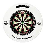 Winmau weiß Dartboard Surround Gummi Ring