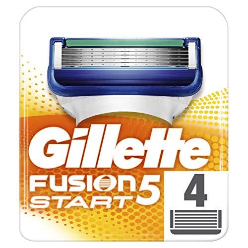 Gillette Fusion5 Start Rasierklingen, für Männer, 4Ersatzklingen