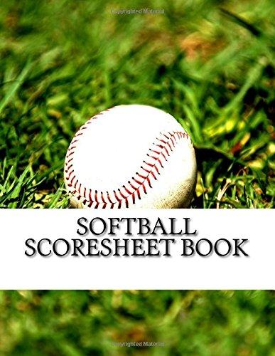 Softball Scoresheet Book: 200 Pages (100 sheets) por Julien Coallier