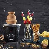 Princess Schokoladenbrunnen - für jede Schokolade und Karamell mit Schmelz- und Fließfunktion, 292994 - 4