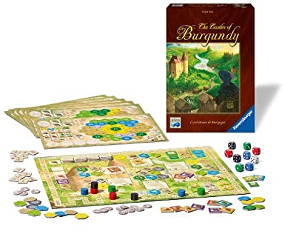 Ravensburger The Castles of Burgundy Strategy Board Game de Ravensburger