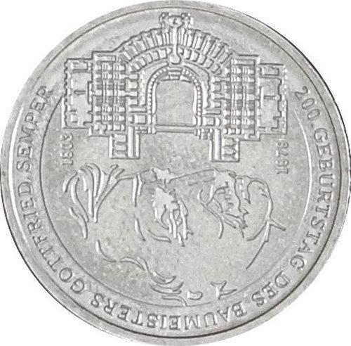 Münzen für Sammler BRD Schönnr: 113G (226G) Gottfried Semper, Stempelglanz 2003 10 Euro Silber