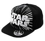 Disney Star Wars Jungen Premium Cap Hip Hop (56, Schwarz)
