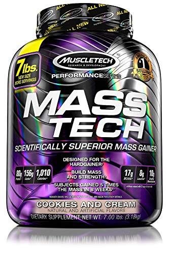Muscletech Performance Series Mass-Tech Cookies and Cream, 3200 g