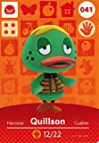 Animal Crossing Happy Home Designer, amiibo Karte quillson 041/100