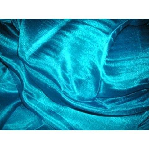 Dancers mundo rectángulo sólido color Danza del Vientre Velo de seda 100% y bufandas bufanda Turquesa