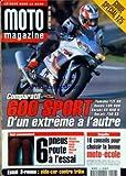 MOTO MAGAZINE [No 156] du 01/04/1999 - SPECIAL GUIDE 125 - COMPARATIF 600 SPORT - 6...