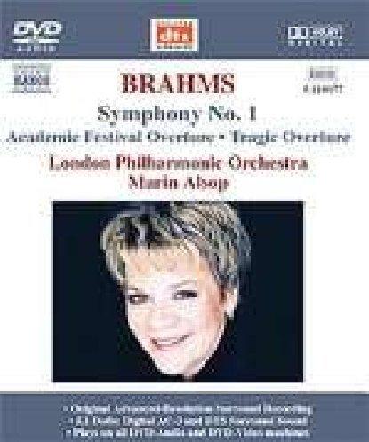 Symphonie Nr. 1/Ouvertüren [DVD de Audio]