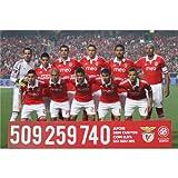 SL Benfica (36inch x 24inch / 90cm x 60cm) Silk Print