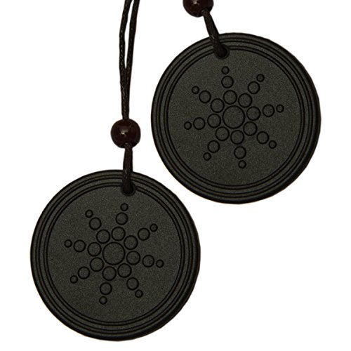 Aarogyam Energy Jewellery Black Pendant for Men and Women (Pack of 2)