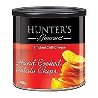 Hunter's Gourmet Hand Cooked Potato Chips Smoked Chilli Cheese - 40gm