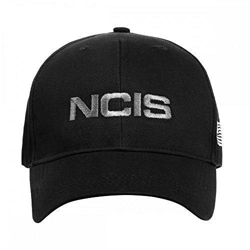 Navy CIS , gesticktes NCIS Cap mit Flagge grau (Neues Modell) , Das Original aus den USA , Basecap , Mütze