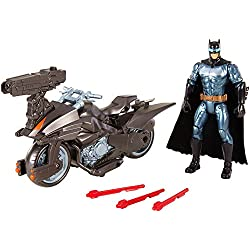 La liga de la Justícia - Figura + vehículo (Mattel FGG53)