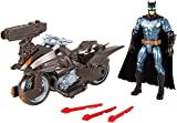 Justice League Action fgg53 Batman/Batcycle Fahrzeug mit Figur