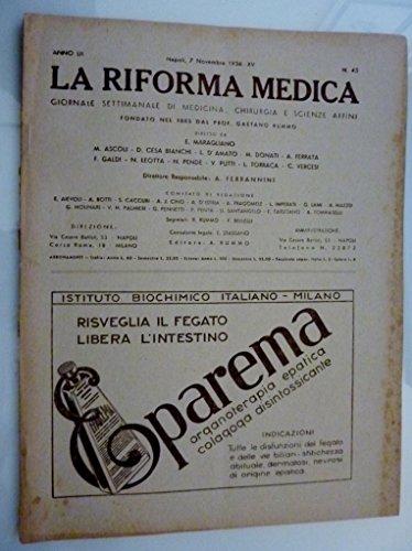 la-riforma-medica-giornale-settimanale-di-medicina-chirurgia-e-scienze-affini-anno-lii-napoli-7-nove