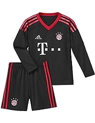 adidas FC Bayern München Home Torwart Mini Kit 17/18