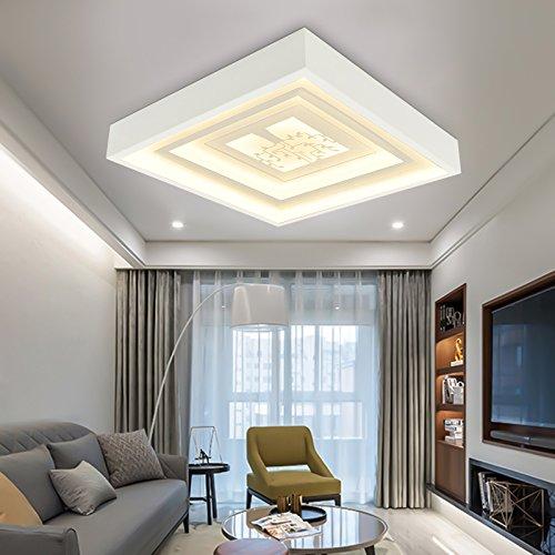 Las lámparas de techo Led Omped metros cuadrados de techo en dormitorio...