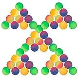 "Schramm Onlinehandel 0431 - Bote con 50 pelotas ""Flummi"", 27 mm"