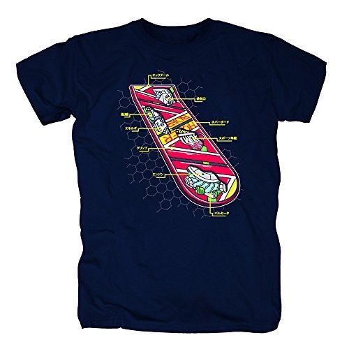 TSP Hoverboard Skateboard T-Shirt Herren XXXXL - Hoverboard Kostüm Aus