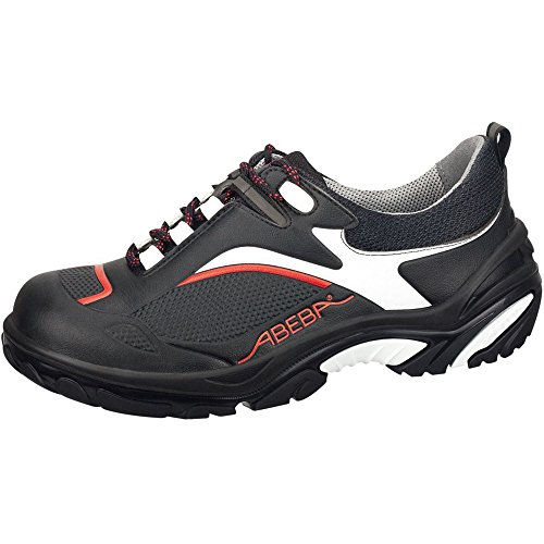 Abeba Crawler scarpa nero/rosso semi S2 Black/Red